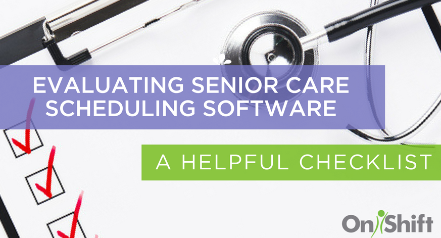 senior care scheduling software