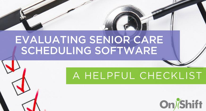 senior care scheduling software