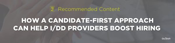 Content - Why The Mission Statement Is An IDD Providers Best Recruiting Tool