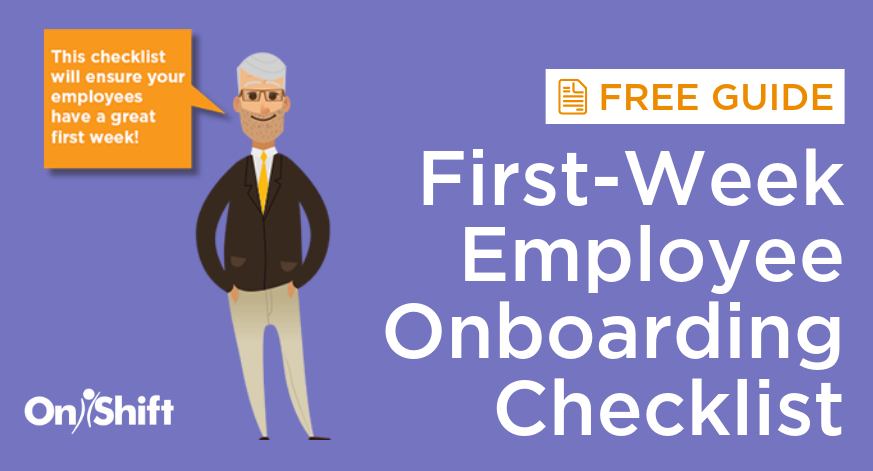 First-Week Employee Onboarding Checklist