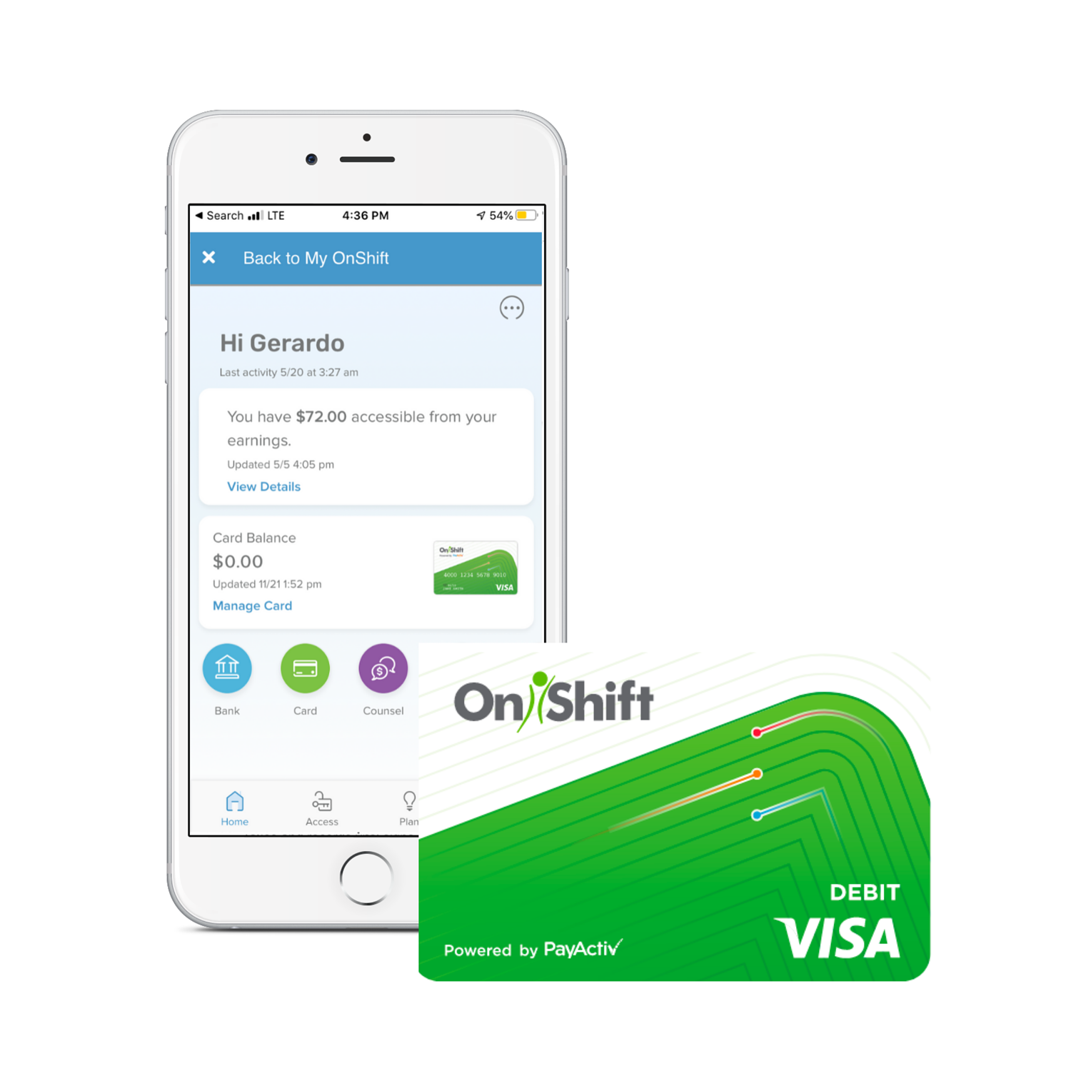 OnShift Wallet