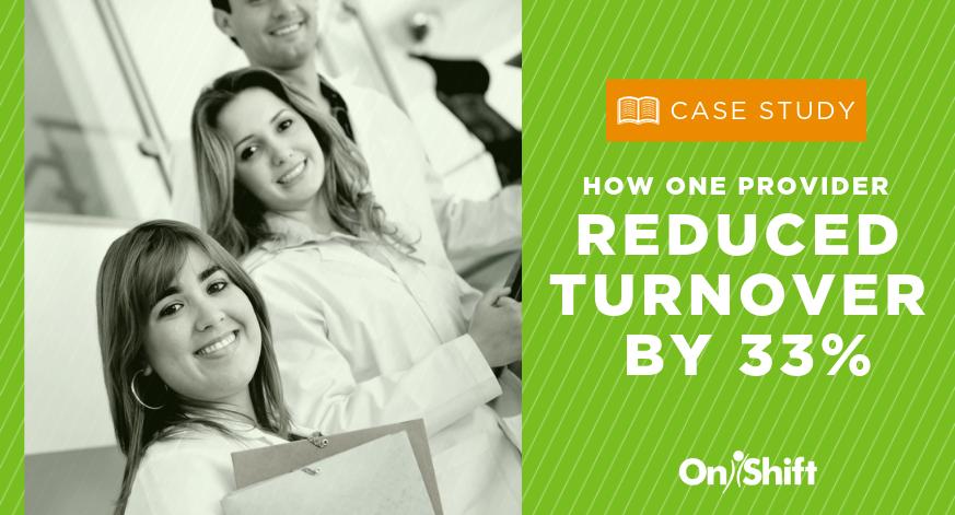 Reduce employee turnover in senior care