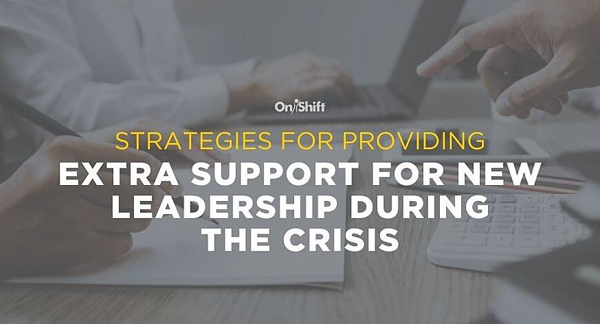 Supporting New Leadership During The Crisis (2)