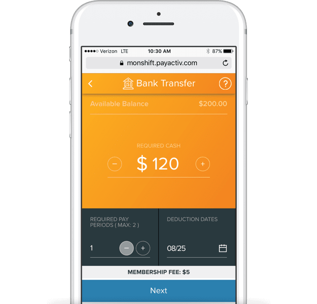 OnShift Wallet integrates into your current time & attendance and payroll systems