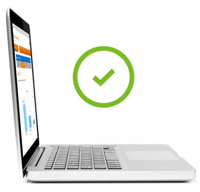 Streamline process with exportable reports that meet CMS standards