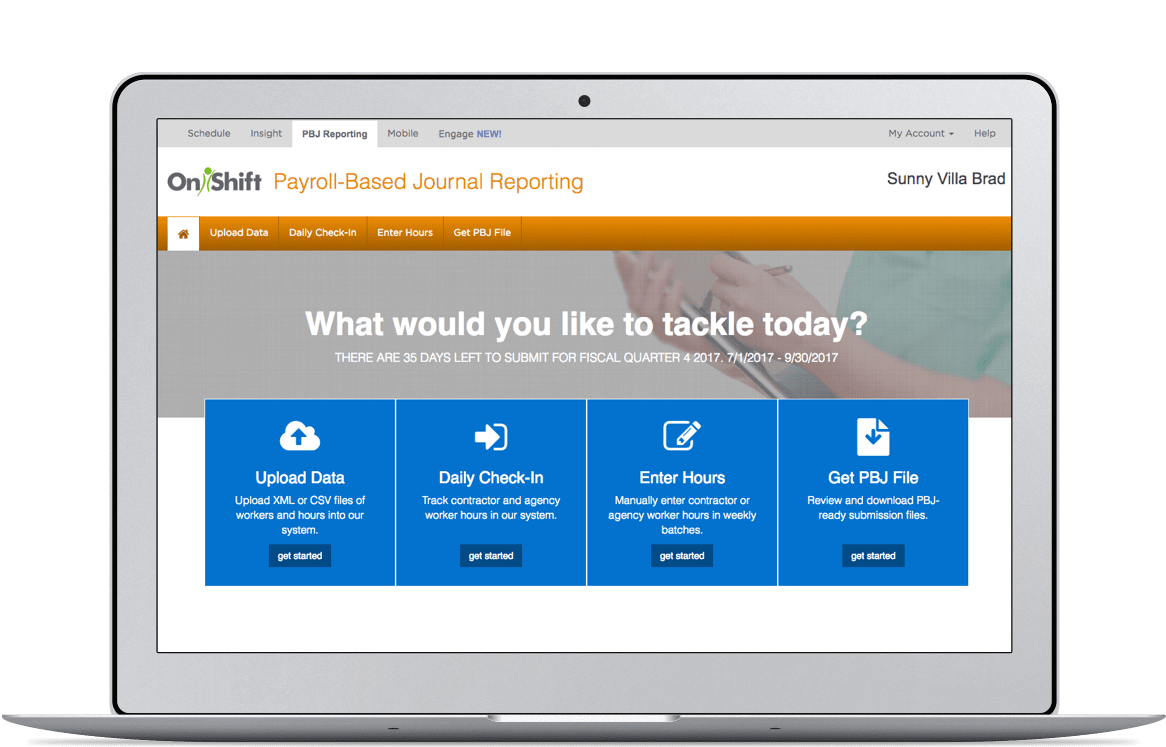 Payroll-Based Journal Reporting Software Dashboard