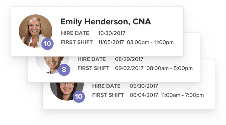 Engage new hires from day one with OnShift Engage