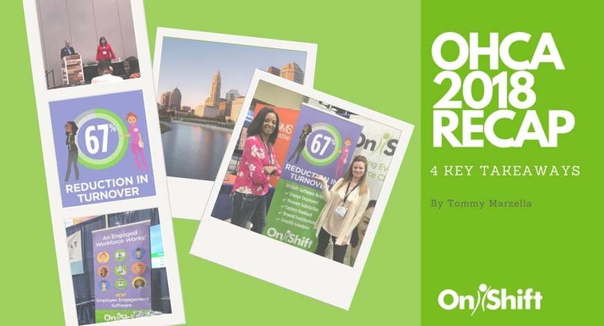 OnShift OHCA 2018 recap