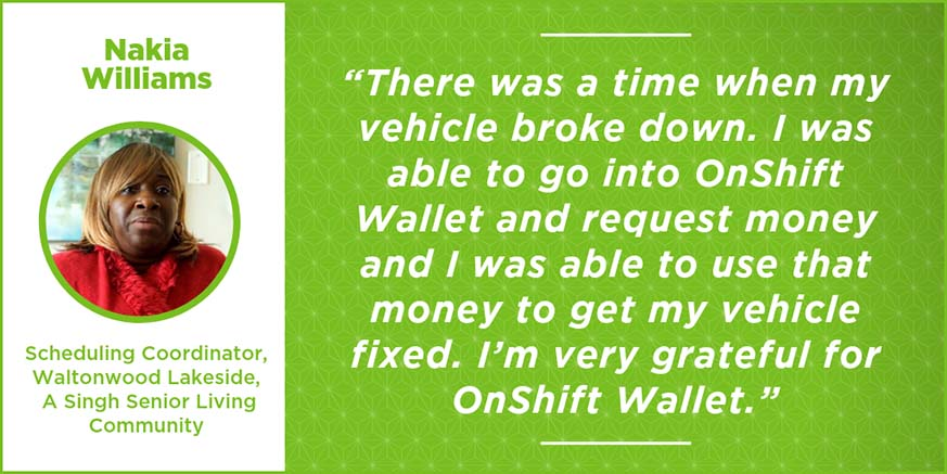 OnShift Wallet a lifesaver for one scheduler