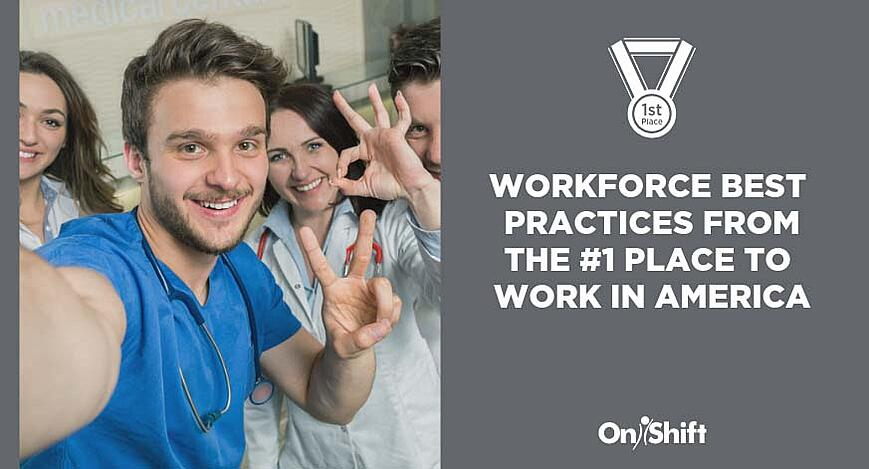 Workforce best practices to adopt from the top place to work