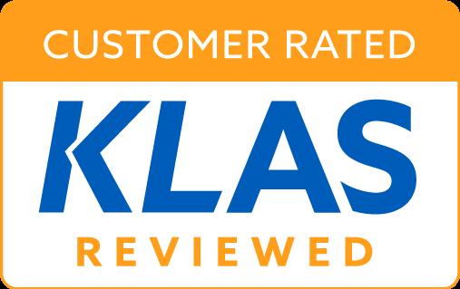 Customer-Rated-KLAS-Reviewed-2020-Orange