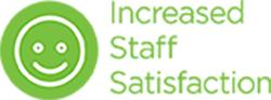 increased staff satisfaction