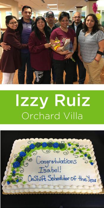 Izzy Ruiz senior care scheduler