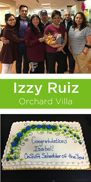 Izzy Ruiz senior care scheduler