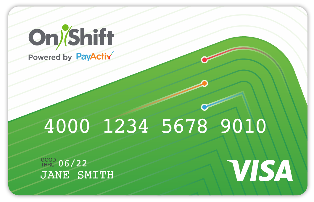 OnShift Wallet Prepaid Visa Card