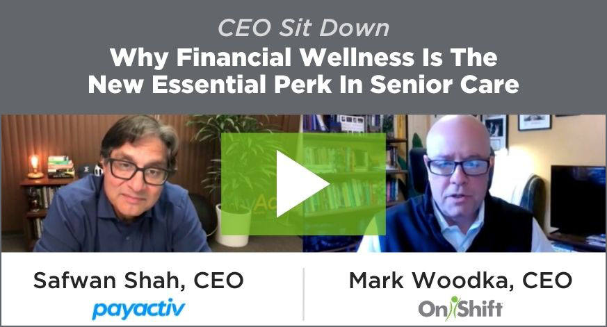 CEO Sit Down: Why Financial Wellness Is The New Essential Perk In Senior Care