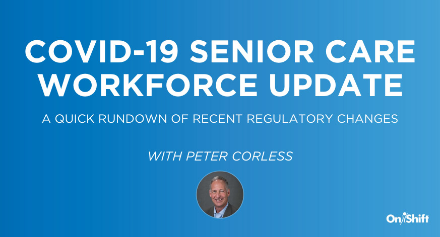 [VIDEO] Workforce Update: A Rundown Of Recent Regulatory Changes