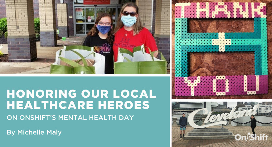 Honoring Local Healthcare Heroes During OnShift's Mental Health Day