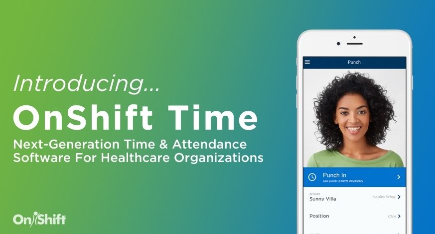Modern, Mobile & Contactless: Introducing OnShift Time