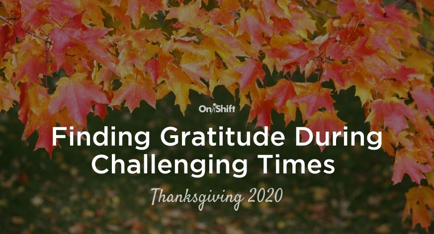 Finding Gratitude During Challenging Times