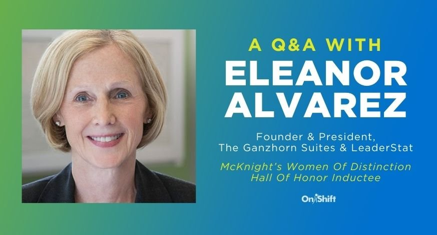 A Q&A With Eleanor Alvarez, A 2020 McKnight's Women Of Distinction Hall Of Honor Inductee