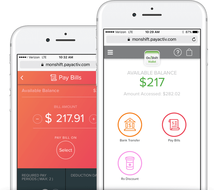 onshift-wallet-on-mobile-device