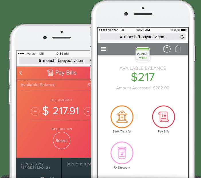 Employee Financial Wellness Software Mobile App