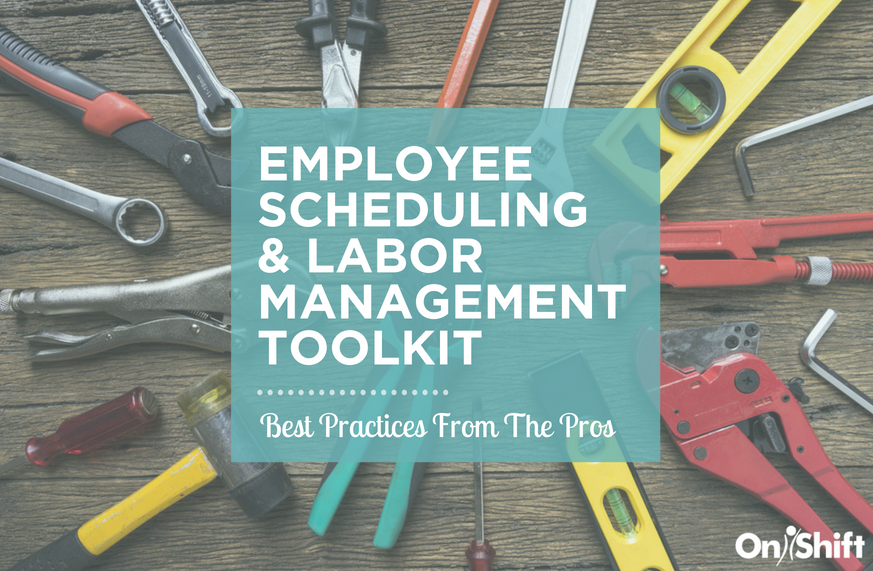 employee scheduling and labor management