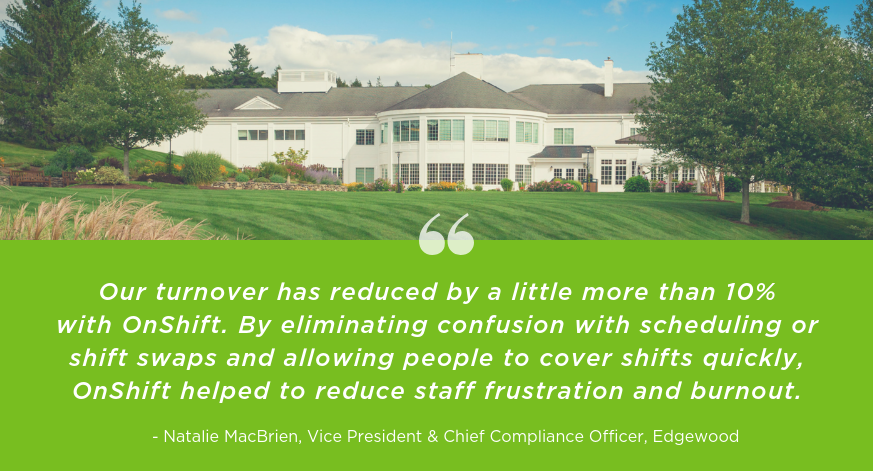 How One CCRC Reduced Turnover By 10% With Employee-Centric Scheduling